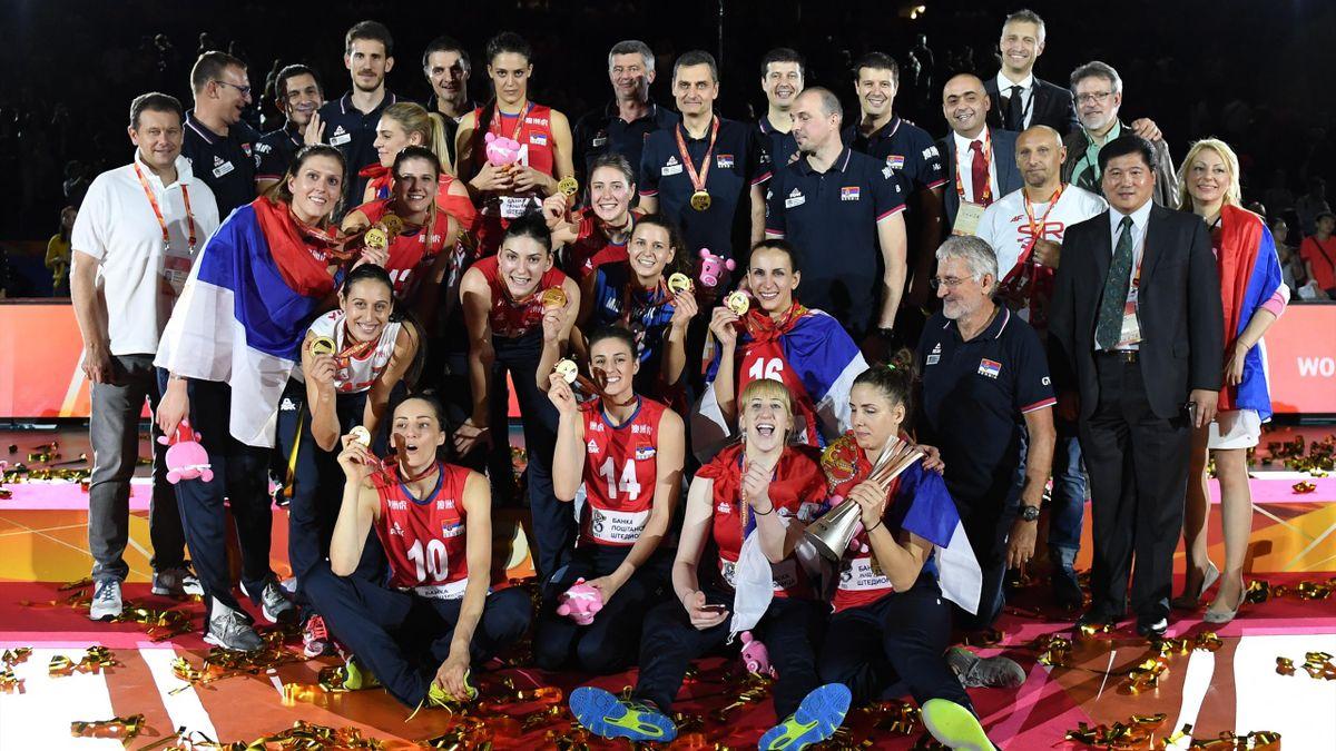 Сербия выиграла женский ЧМ-2018