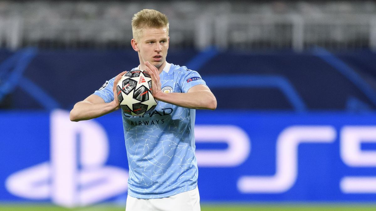 Александр Зинченко, «Манчестер Сити»