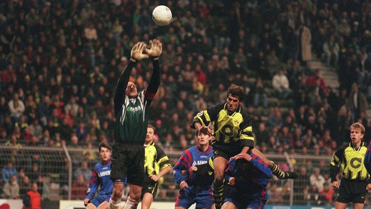 Steaua şi Dortmund s-au întâlnit în grupele Champions League, în 1996
