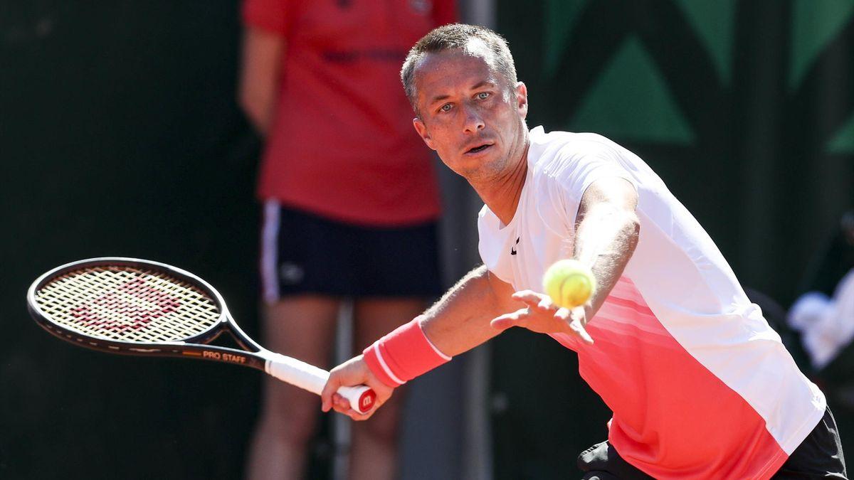 Phillip Kohlschrieber bei den French Open in Paris