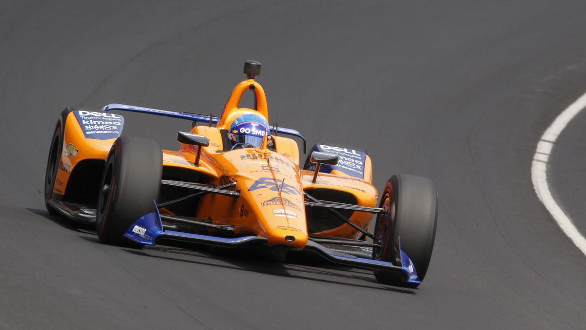 La voiture de Fernando Alonso à Indianapolis