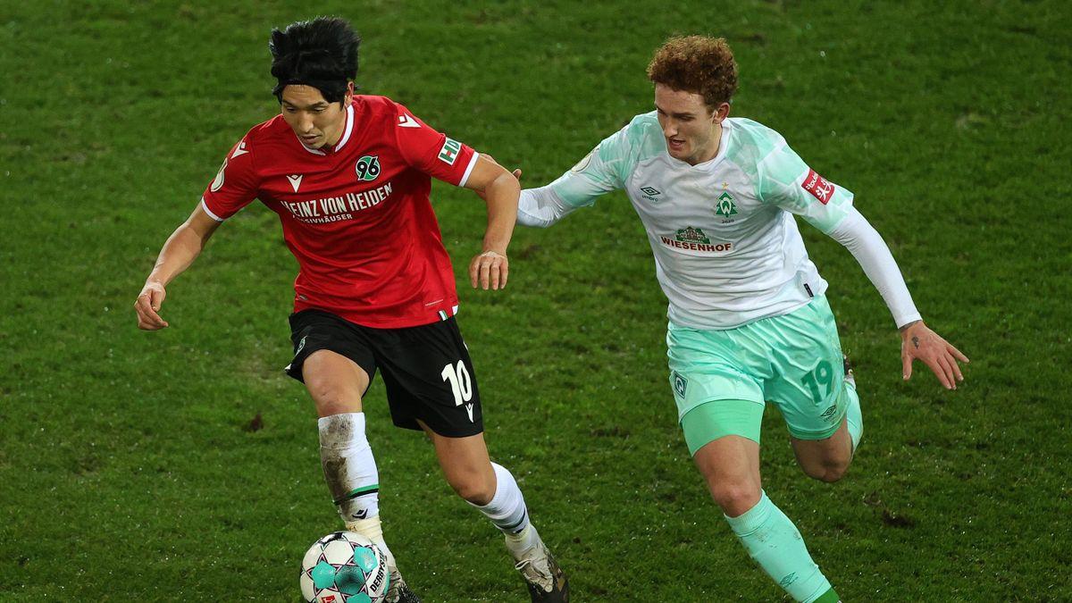 DFB-Pokal: Hannover 96 - Werder Bremen