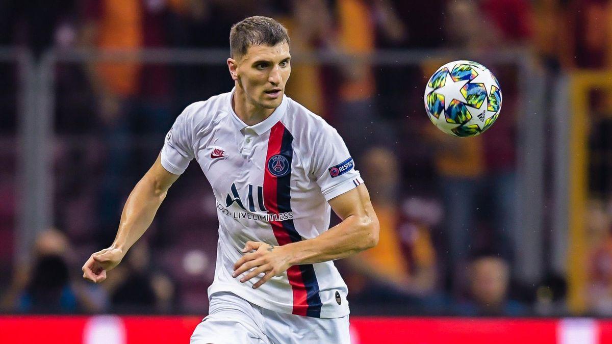 BVB-Neuzugang Thomas Meunier läuft beim Champions-League-Finalturnier nicht mehr für Paris Saint-Germain auf