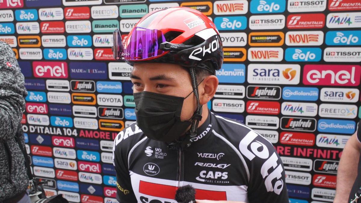 "Giro d'Italia| ""Ik hou van technische finales zoals vandaag"" Caleb Ewan"