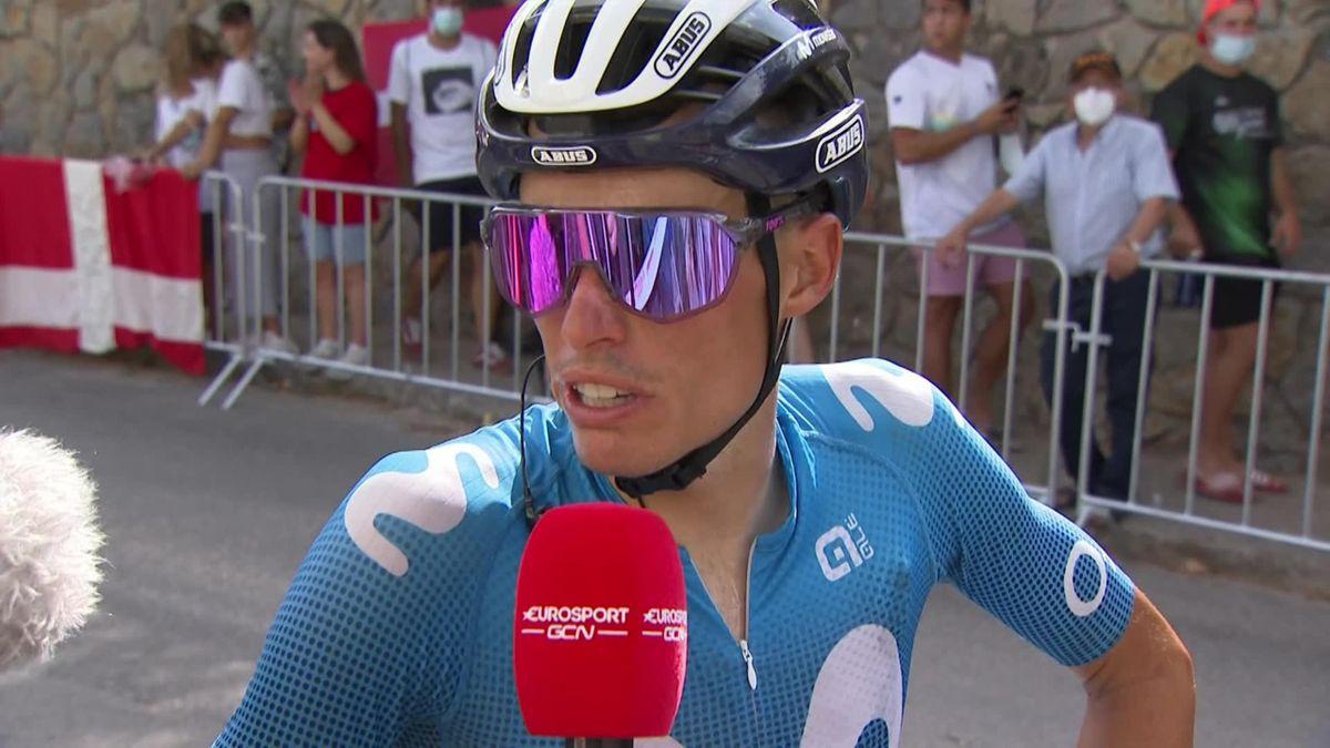 """La Vuelta   """"Hij verontschuldigde zich bij mij"""" - Mas krijgt excuses van Roglic"""