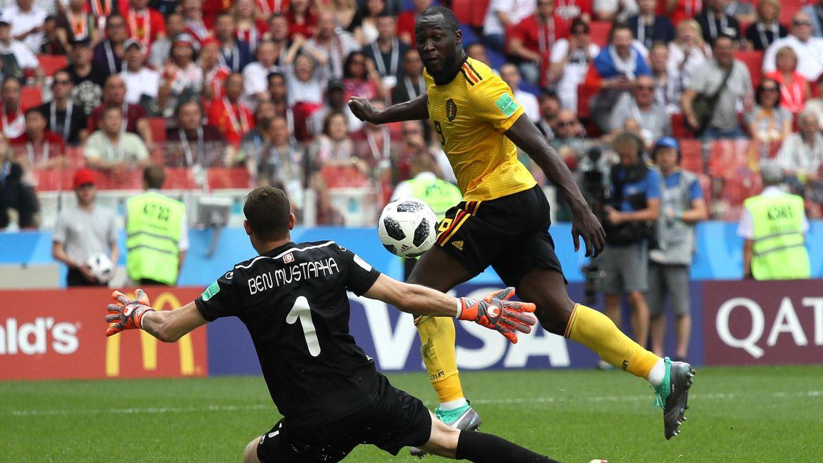 Romelu Lukaku (Belgien) im WM-Spiel gegen Tunesien