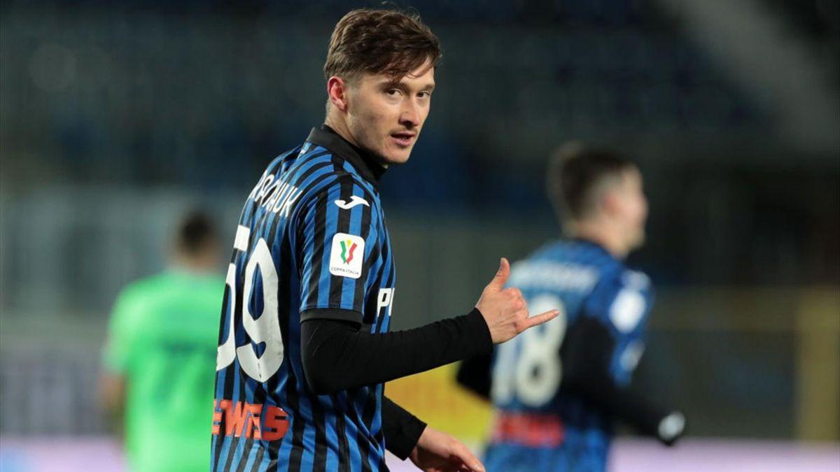 Aleksej Miranchuk - Atalanta-Lazio - Coppa Italia 2020/2021 - Getty Images