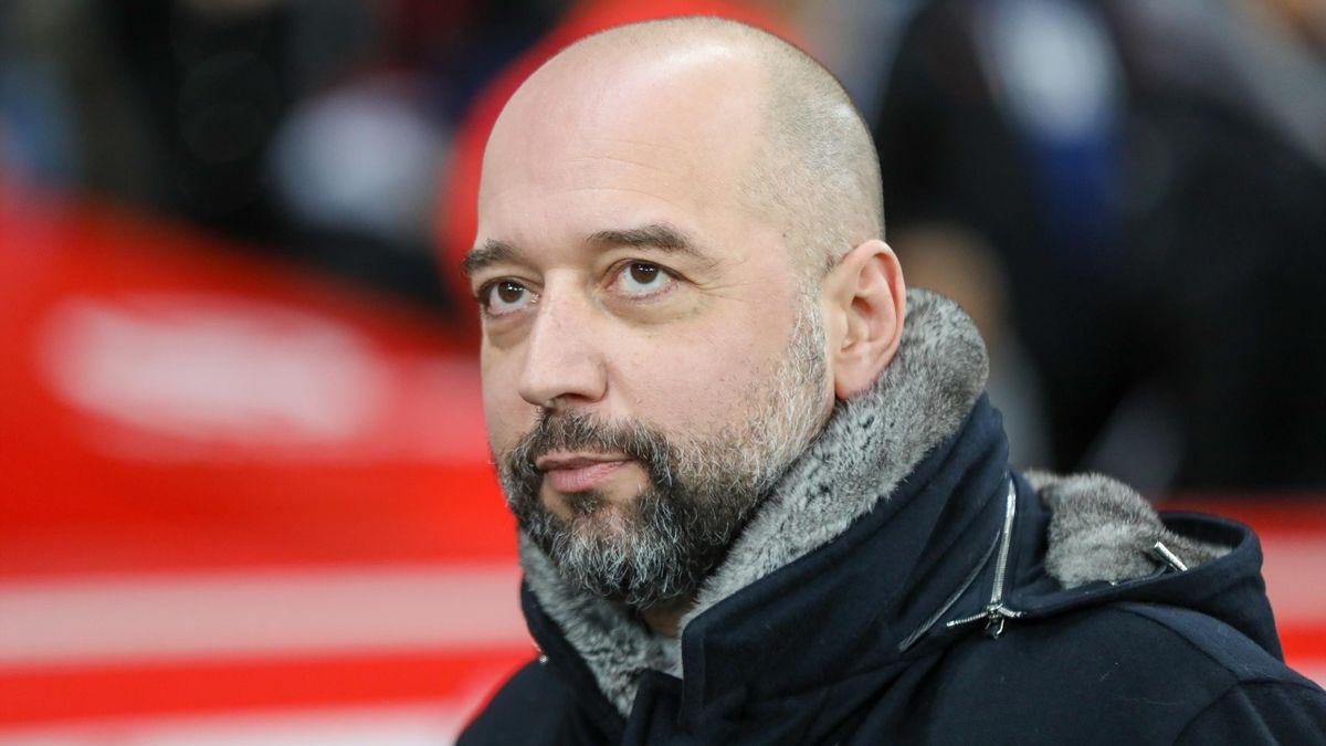 Gérard Lopez, président du LOSC, lors du match opposant Lille au PSG, le 26 janvier 2020