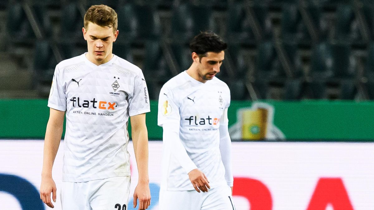 Frust bei Borussia Mönchengladbach nach dem Pokal-Aus