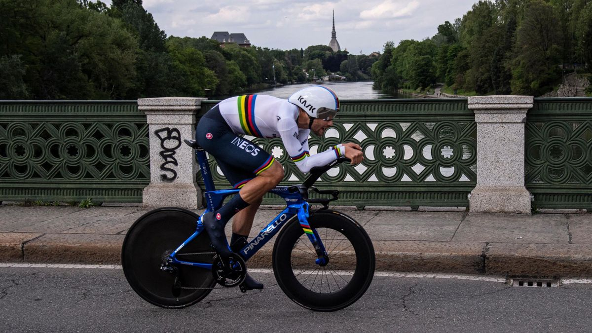 Filippo Ganna 1. Etappe Zeitfahren beim Giro d'Italia 2021