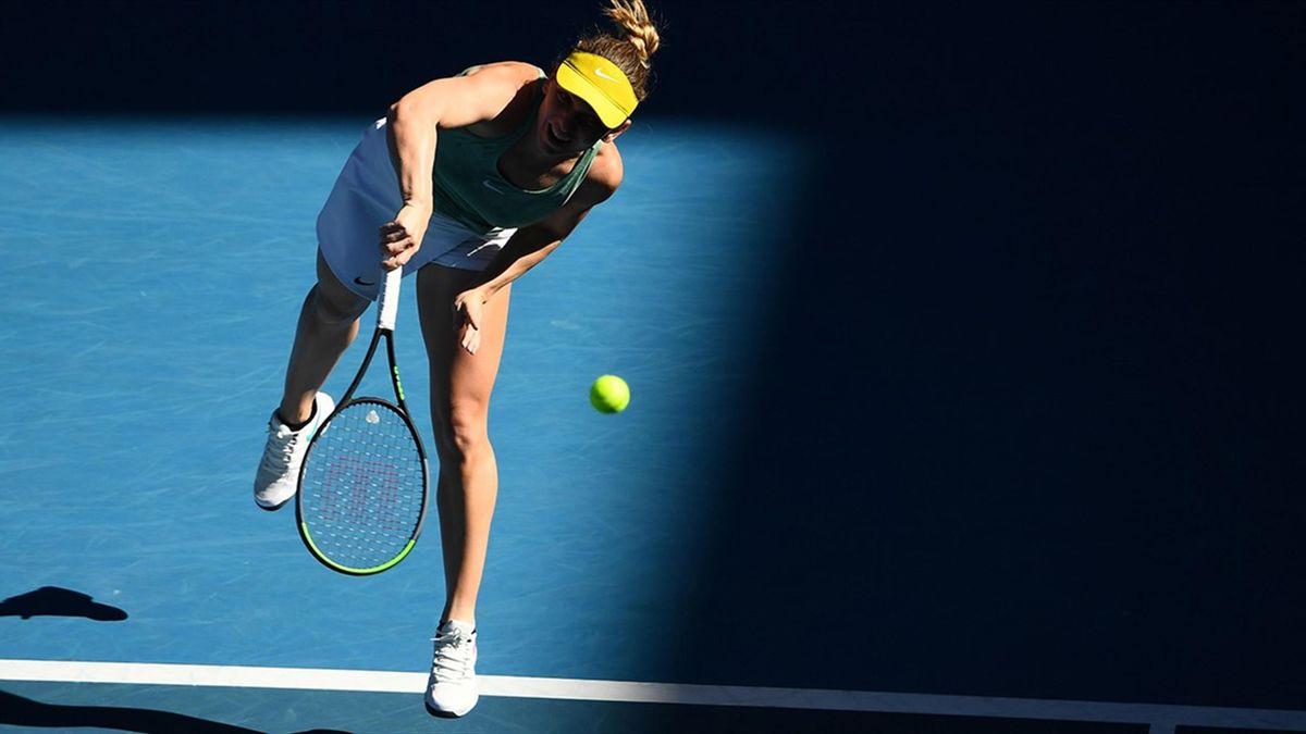 Simona Halep joacă impresionant în Australia