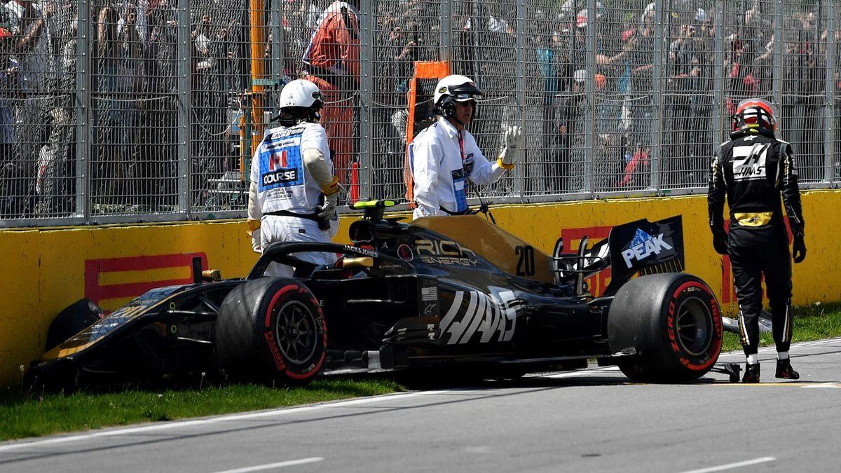 Kevin Magnussen (Haas) au Grand Prix du Canada 2019