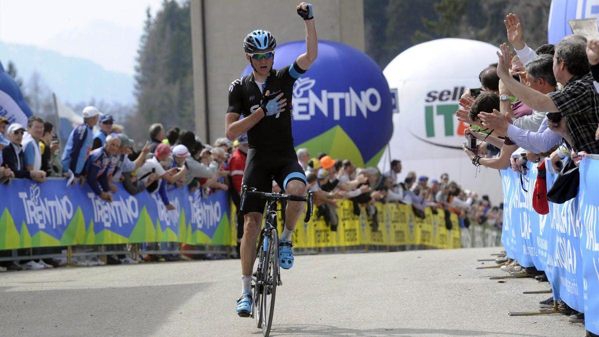 Kanstantsin Siutsou, Giro del Trentino