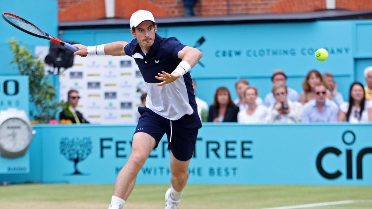 Andy Murray hat das Rasen-Turnier im Londoner Queen's Club schon fünfmal gewinnen können