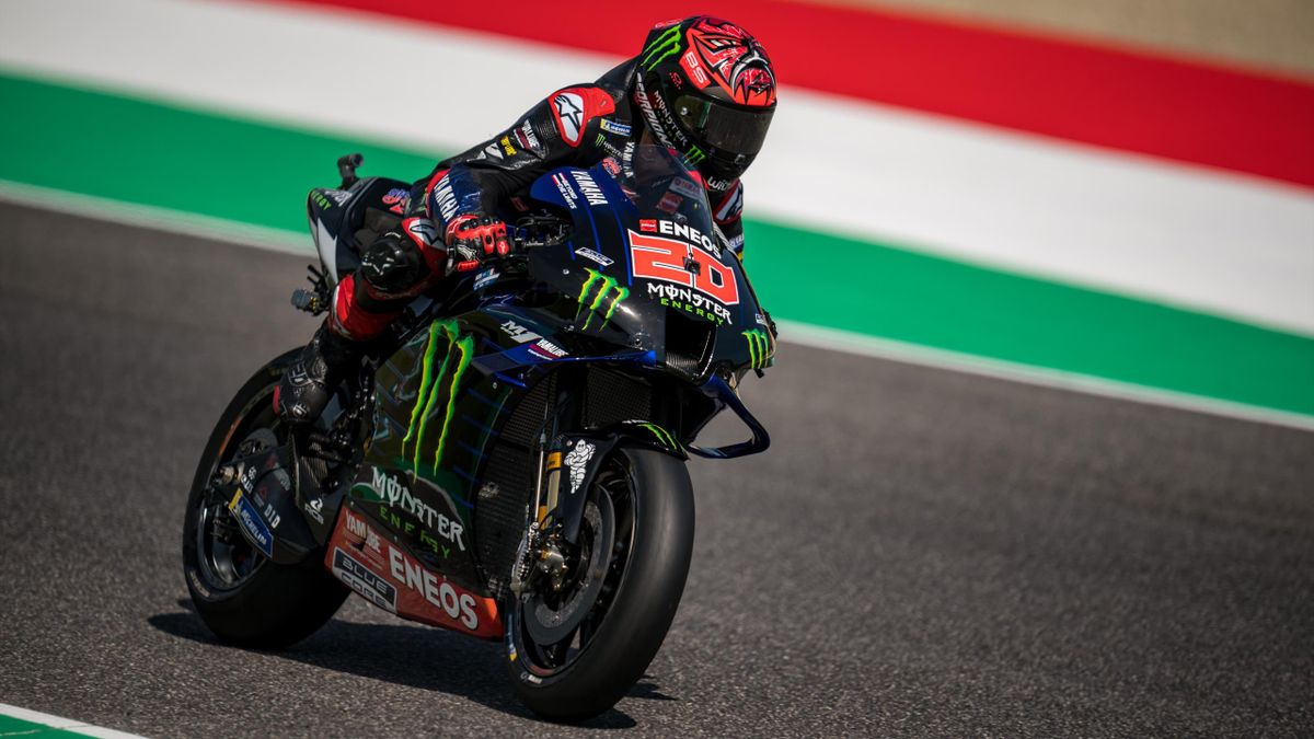 Quartararo takes pole at Italian Grand Prix
