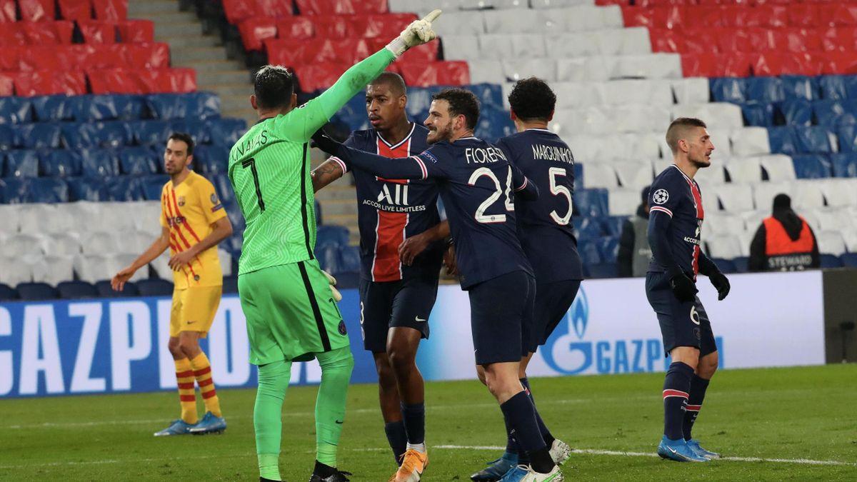 Keylor Navas a guidé le PSG face au Barça
