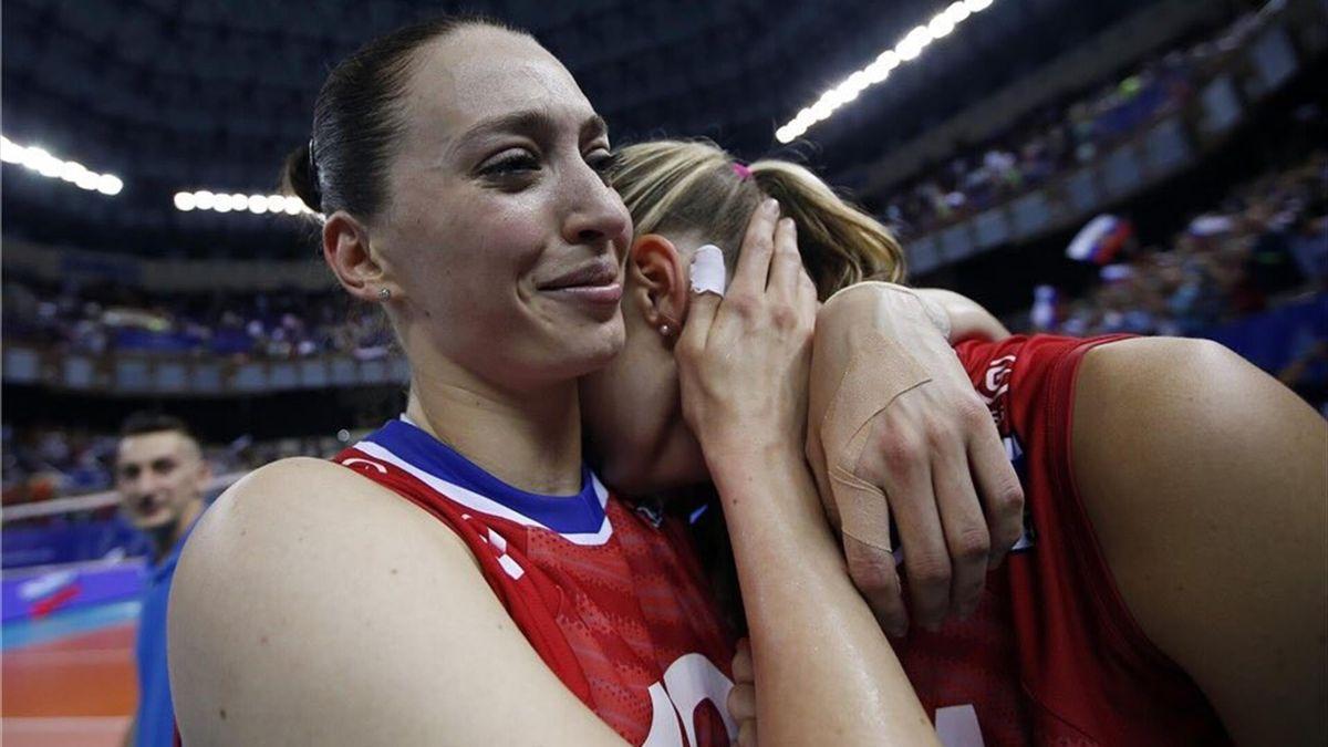 Евгения Старцева, женская сборная России по волейболу