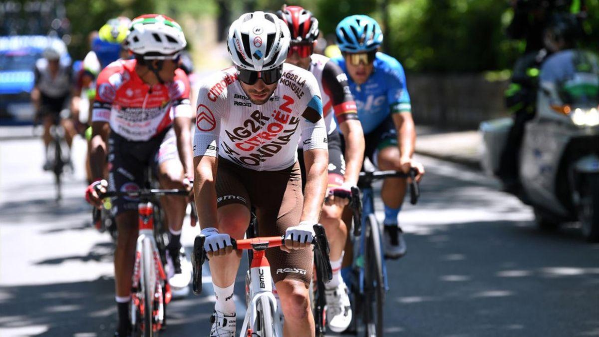Andrea Vendrame all'attacco nella 12a tappa - Giro d'Italia 2021