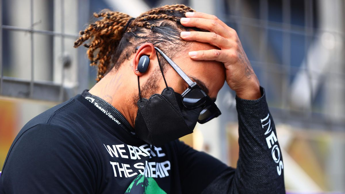 It was a disappointing day for Hamilton in Baku