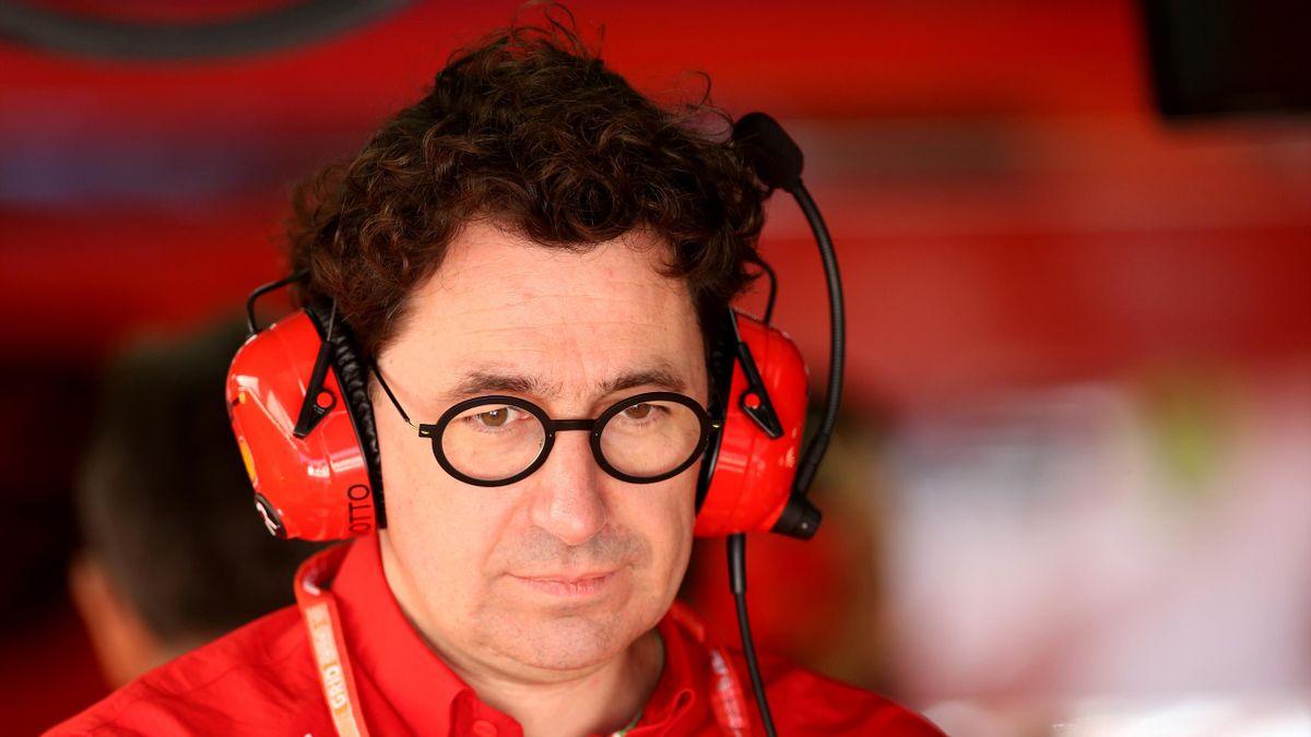 Mattia Binotto - Ferrari Team Principal