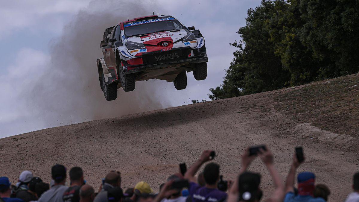Sébastien Ogier remporte le Rallye de Sardaigne au volant de sa Toyota
