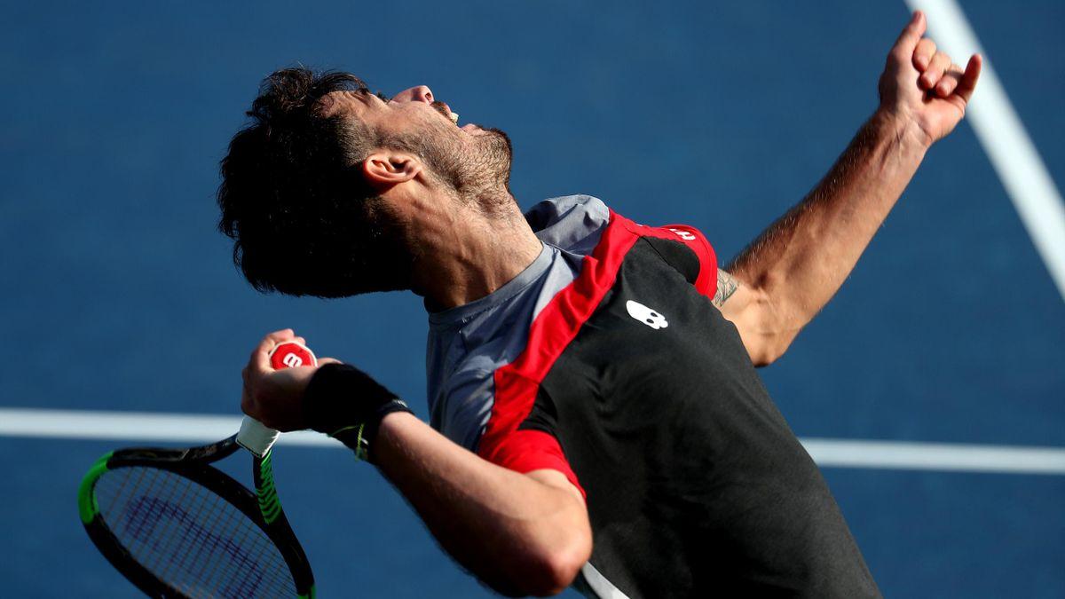 Juan Ignacio Londero à l'US Open en 2019