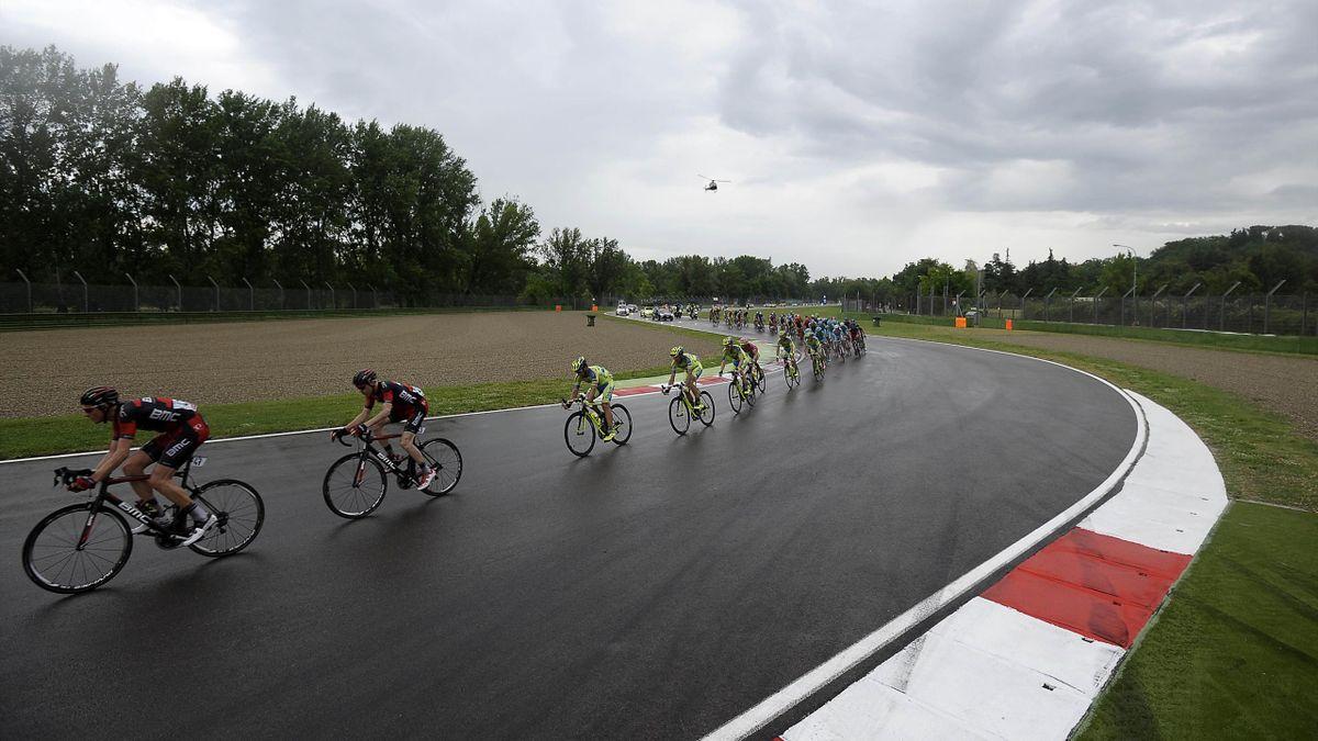 Giro d'Italia 2015, Tappa 11, Autodromo Nazionale Enzo e Dino Ferrari, Imola (LaPresse)