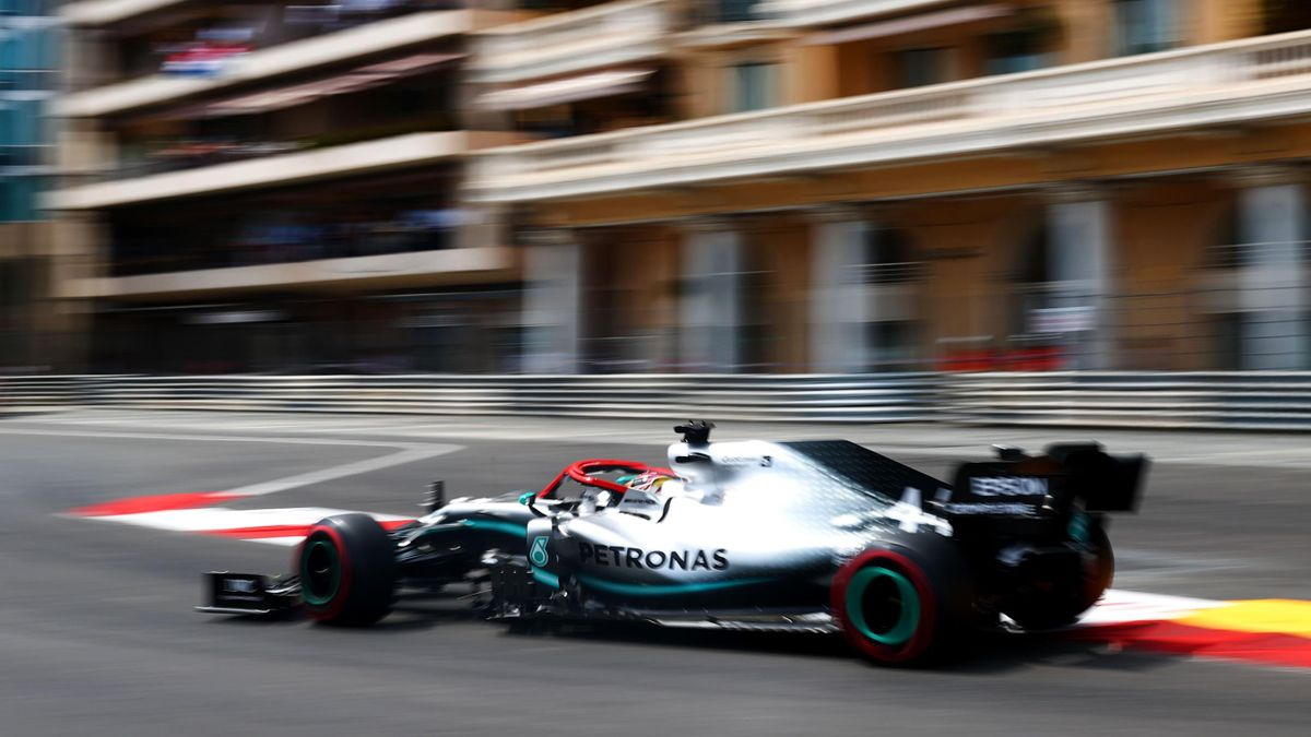 Lewis Hamilton (Mercedes) au Grand Prix de Monaco 2019