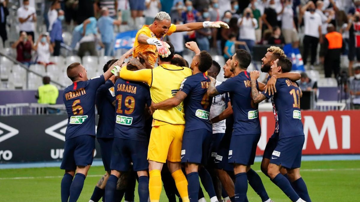 PSG, campioana din Ligue 1