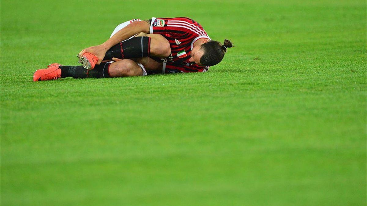 Zlatan Ibrahimovic s-a accidentat la ultimul antrenament al lui Milan