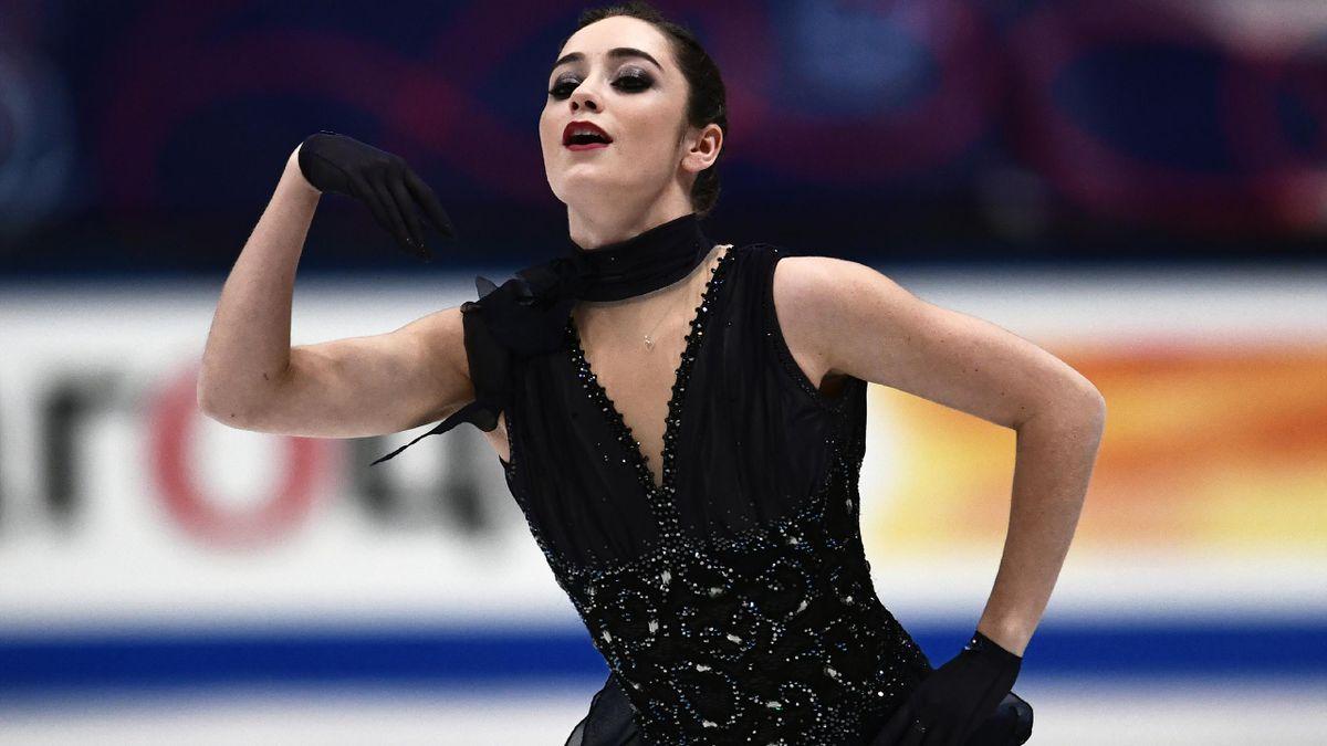 Kaetlyn Osmond gewann die Goldmedaille
