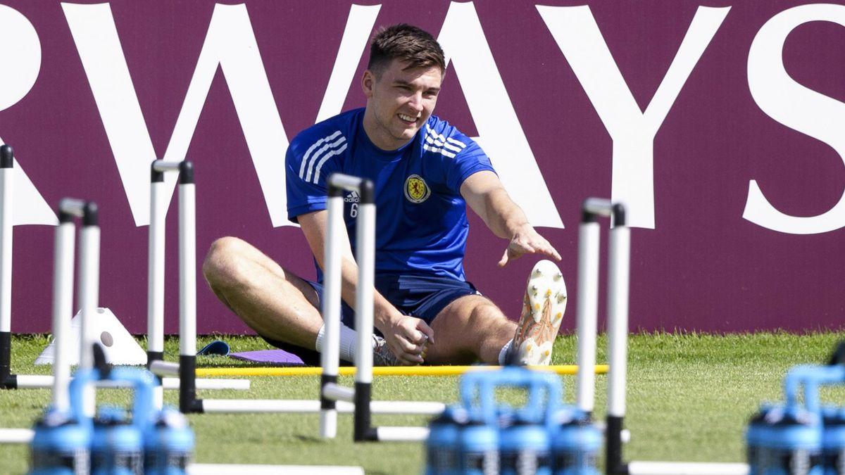 Kieran Tierney missed Scotland's defeat to Czech Republic