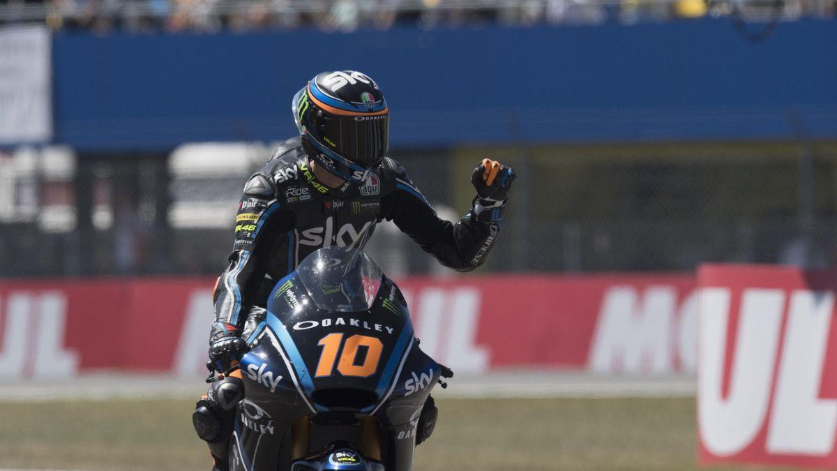 2018, Luca Marini, Moto2, Team Sky VR46, Getty Images