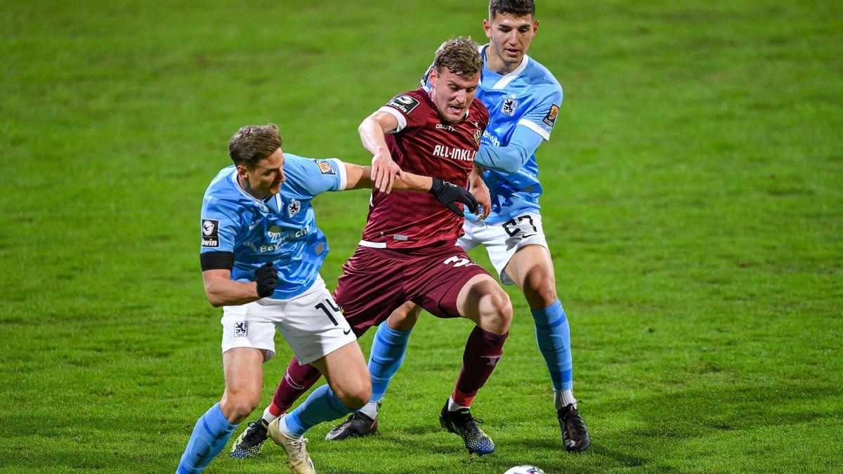 Topspiel der 3. Liga: 1860 München gegen Dynamo Dresden