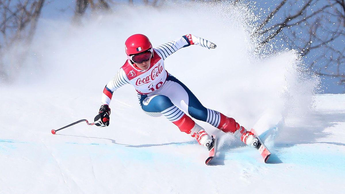 Marie Bochet aux Jeux Paralympiques 2018