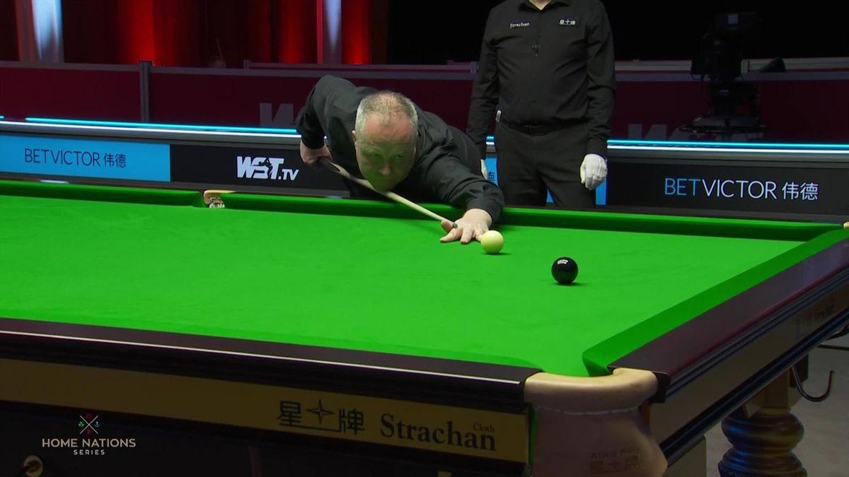 Higgins, centone deluxe nel 1° frame contro Woollaston