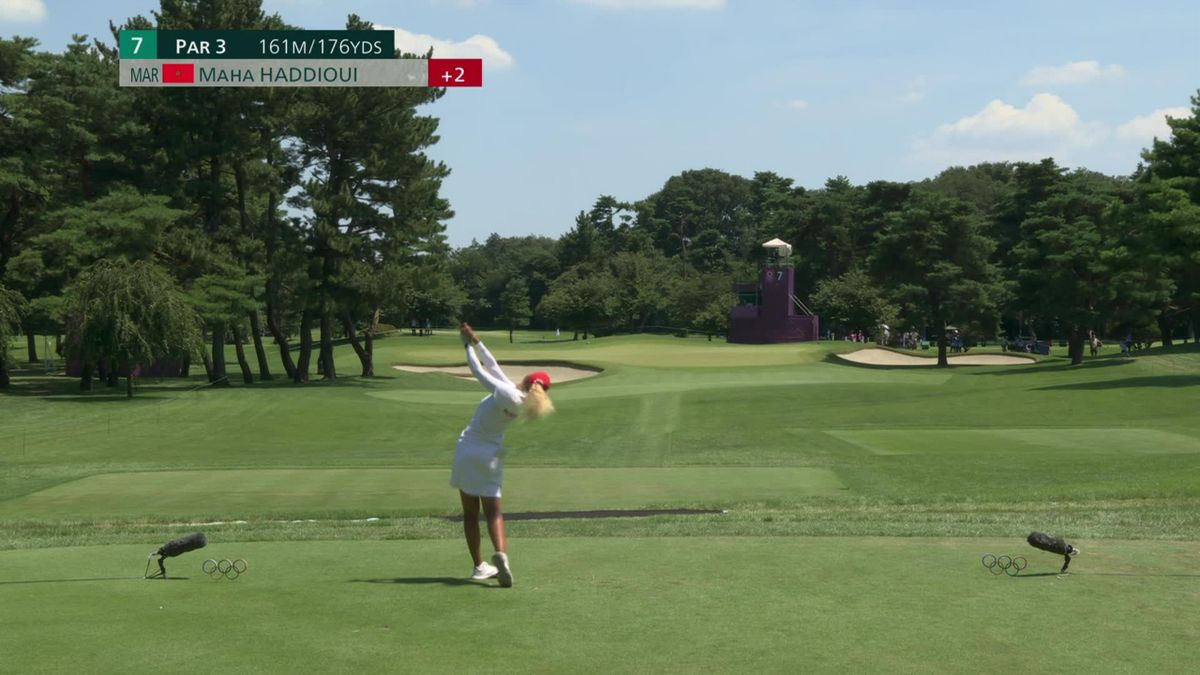 Watch the incredible hole in one from Haddioui and celebrations