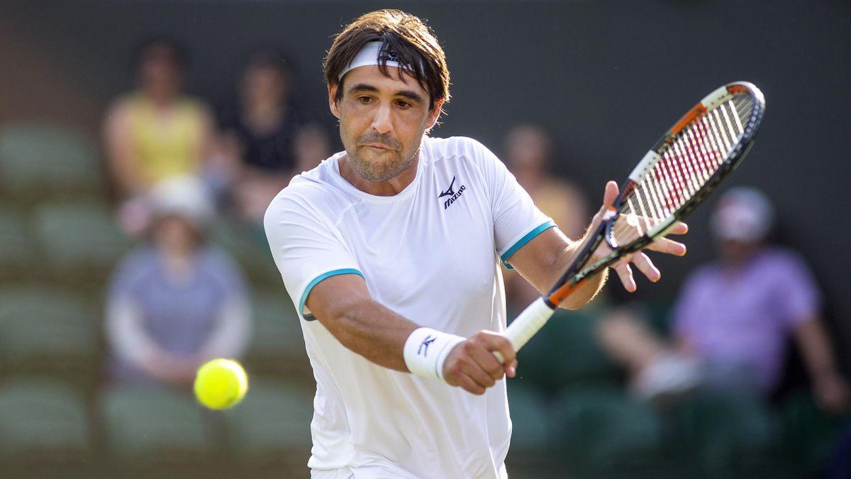 Marcos Baghdatis à Wimbledon en 2019