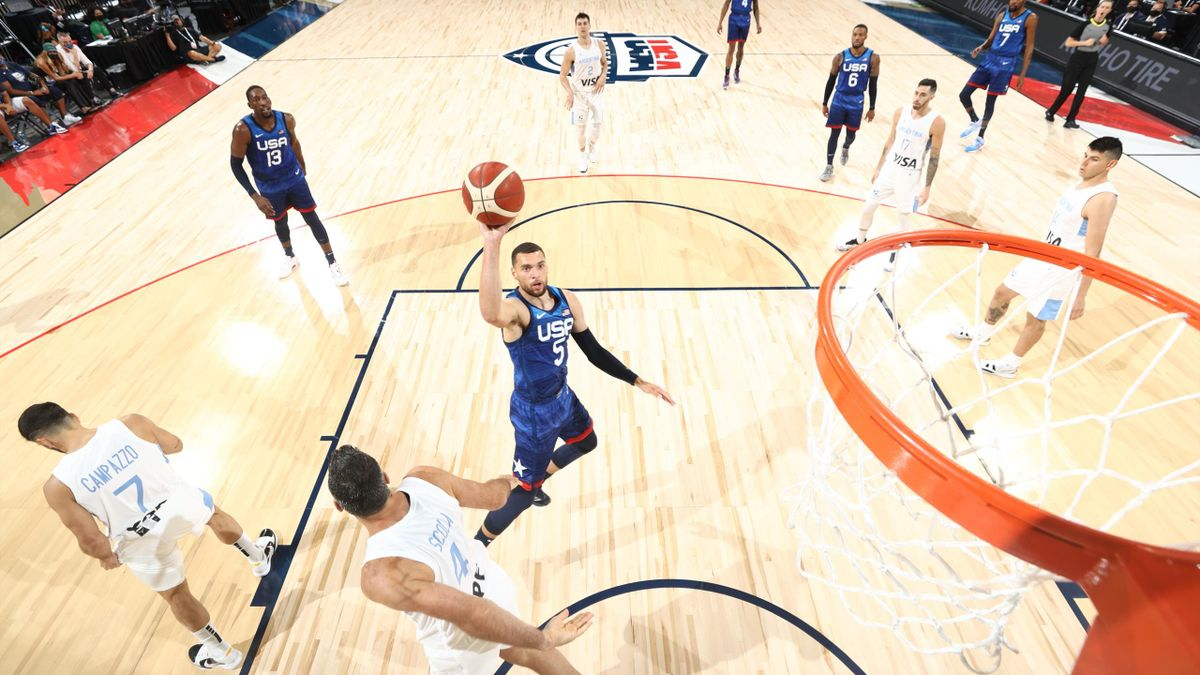 Argentina vs Estados Unidos Basket