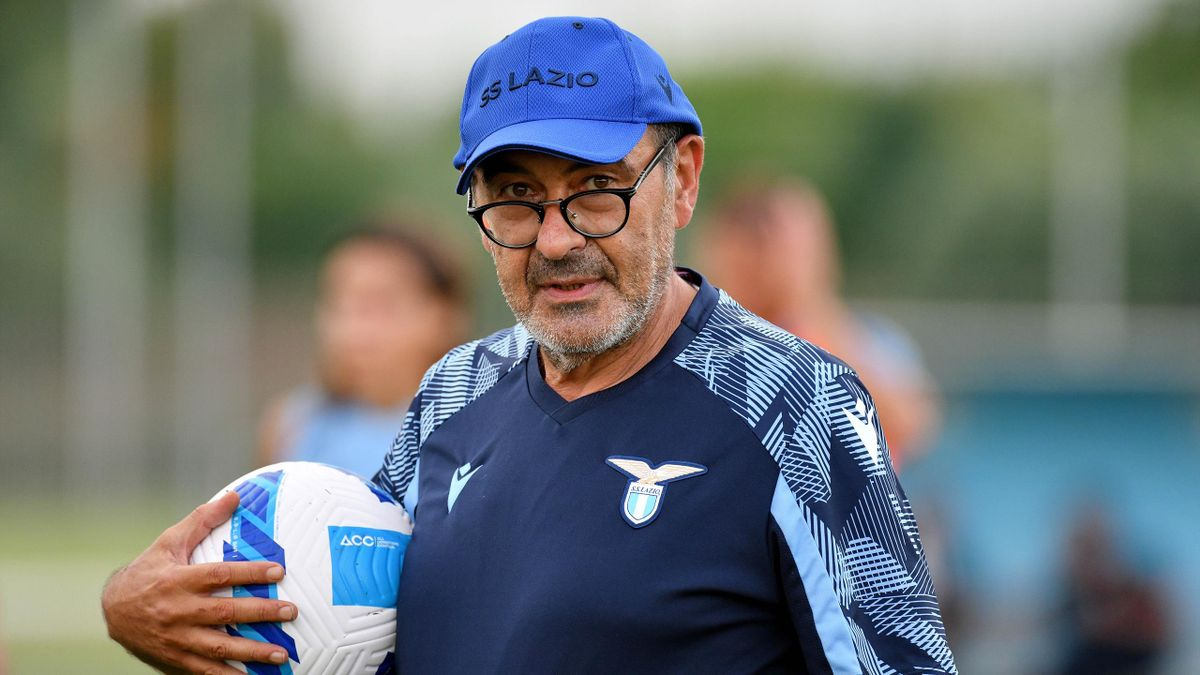 Maurizio Sarri, allenatore della Lazio