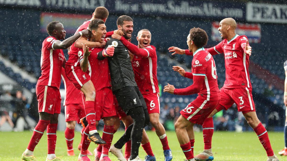 Alisson Becker buteur pour Liverpool