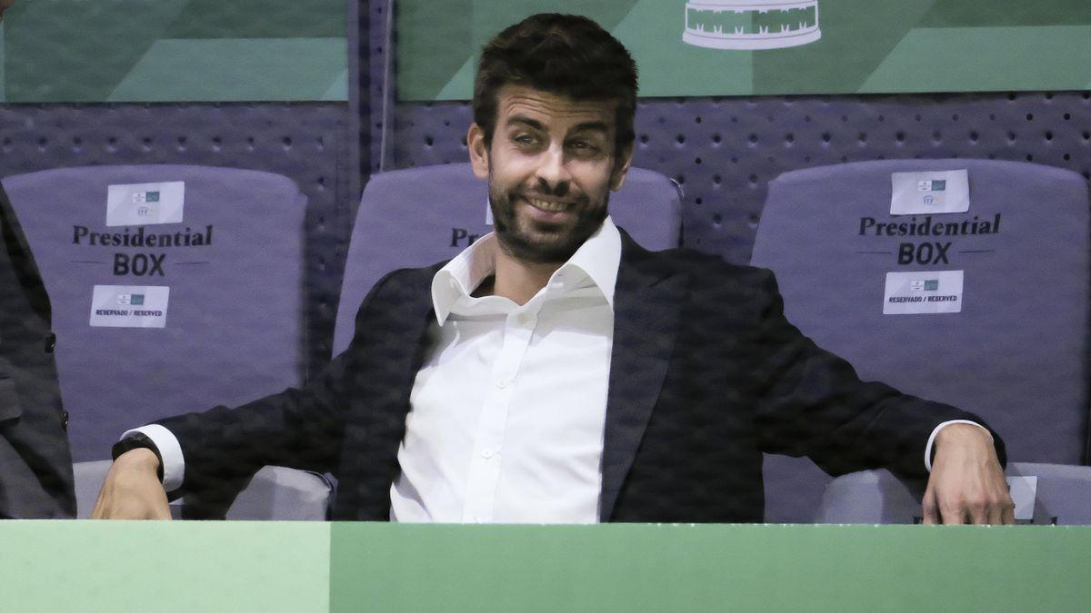 Gerard Piqué beim Davis Cup in Spanien