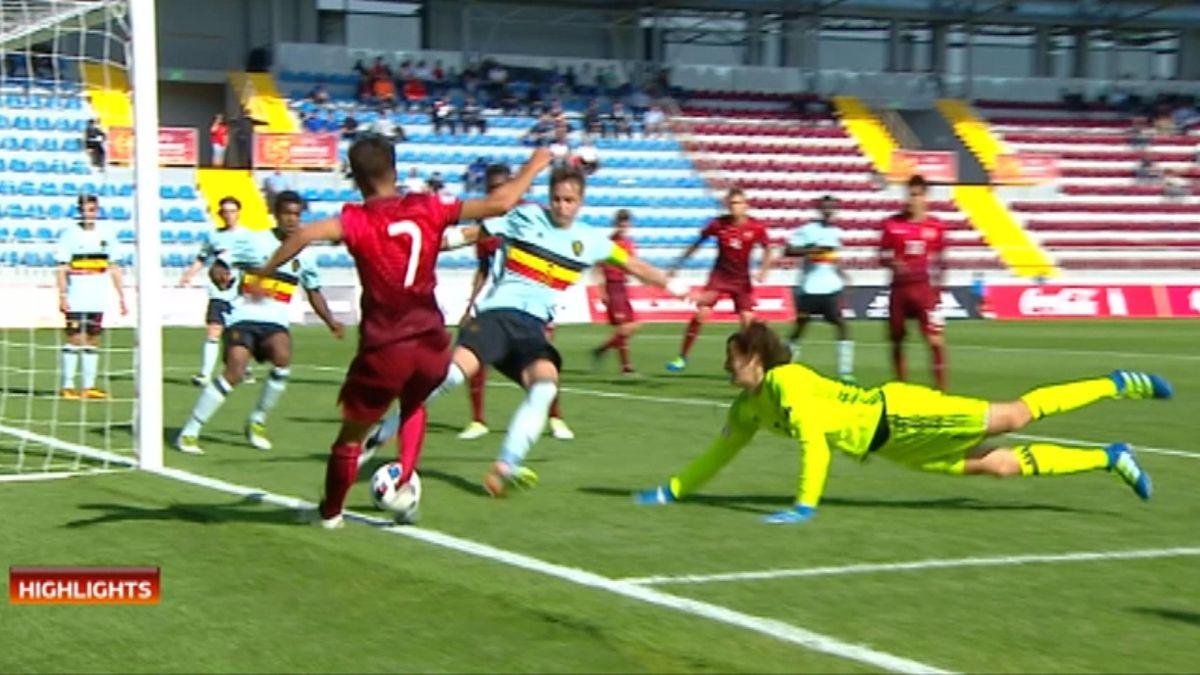 ECH U17 : Portugal - Belgium