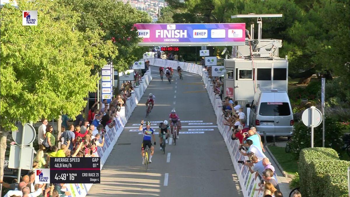 Ronde van Kroatië | Kooij slaat opnieuw toe na vermijden van valpartij
