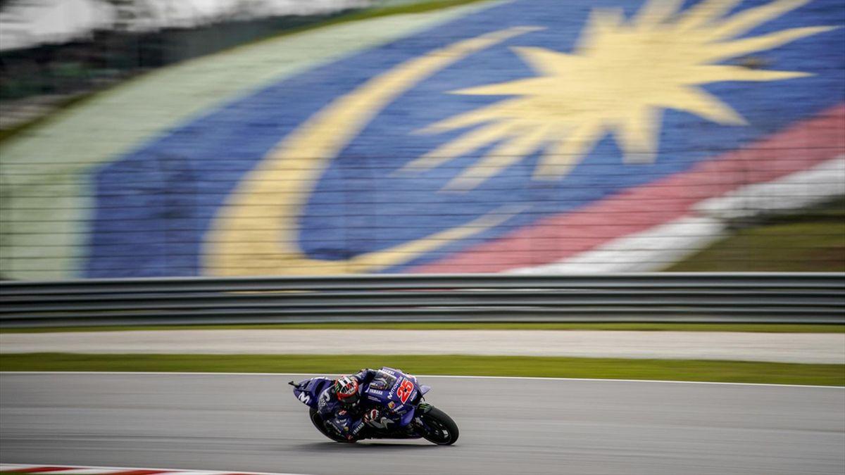 Maverick Viñales (Yamaha Factory) lors du Grand Prix de Malaisie 2018