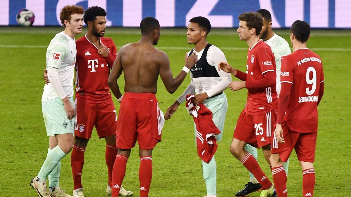 Le Bayern de David Alaba tenu en échec par le Werder en Bundesliga lors de la 8e journée