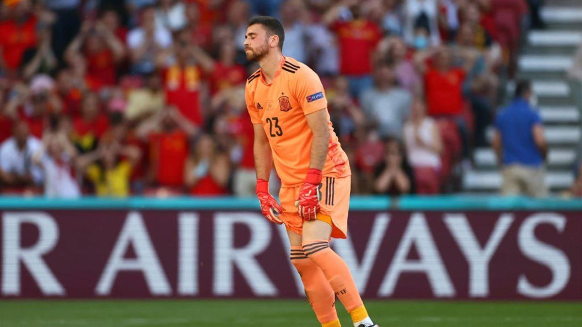 Unai Simon - Croazia-Spagna Euro 2020