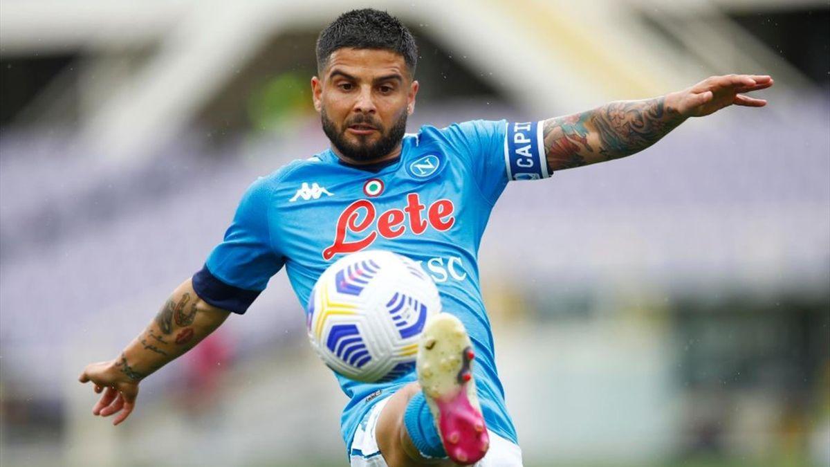 Lorenzo Insigne - Fiorentina-Napoli Serie A 2020-21