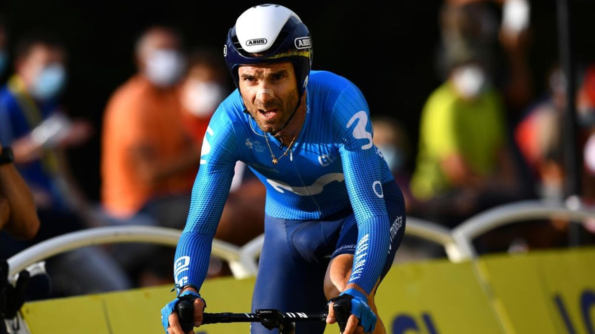 Valverde - Tour de France 2020, stage 20 - Getty Images