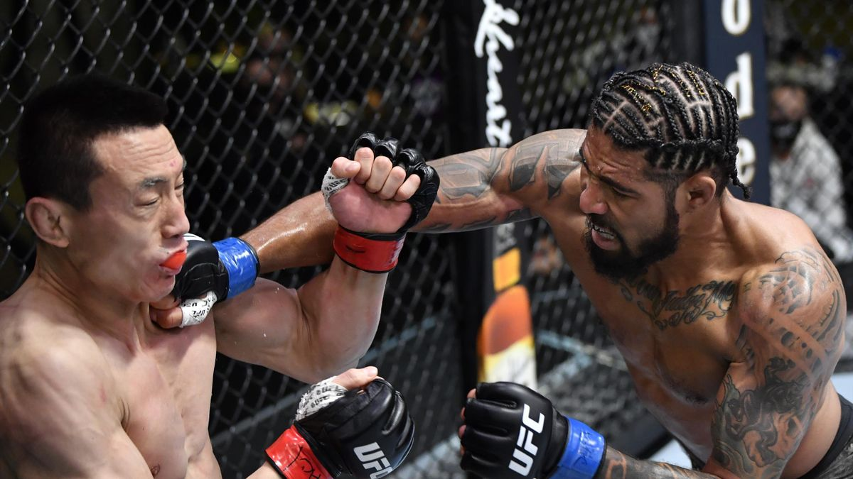 Макс Гриффин – Сон Кенан, UFC on ESPN 21 (UFC Vegas 22)